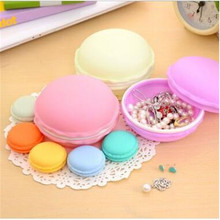 Mini Earphone SD Card Storage Box Macarons Bag Pill Easy-Carrier Boxes Jewelery Case Carrying Pouch Free Shipping
