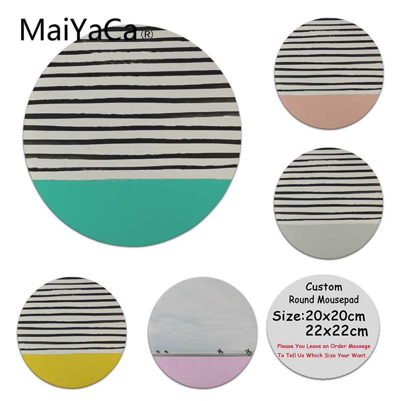 MaiYaCa Саншайн Stripes ноутбук игровой мыши Мышь площадку компьютер игровой Мышь коврики