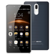 Leagoo M8 Pro 4G Mobile Phone 5.7″ Android 6.0 MT6737 Quad Core 2GB+16GB 13.0MP Dual Rear Camera Fingerprint 3500mah Smartphone