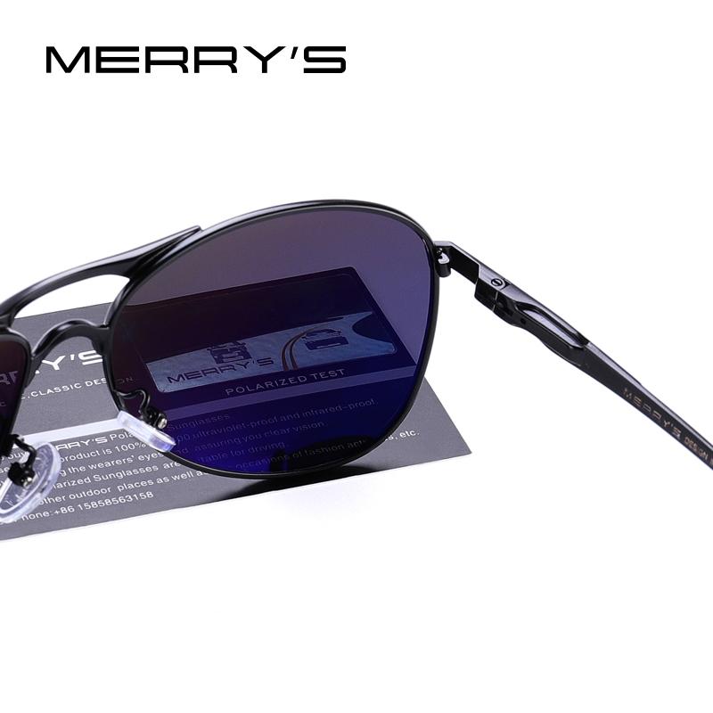 MERRYS DESIGN Men Classic Pilot Sunglasses Mens HD Polarized Sun glasses For Driving Luxury Shades UV400 Protection S8712 in Men 39 s Sunglasses from Apparel Accessories
