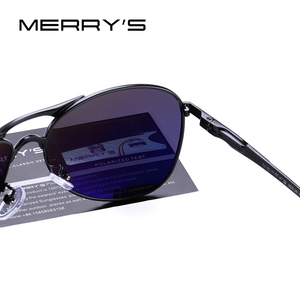 Image 5 - MERRYS DESIGN Men Classic Pilot Sunglasses Mens HD Polarized Sun glasses For Driving Luxury Shades UV400 Protection S8712