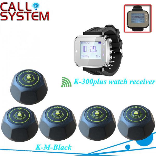 K-300plus+M  1+5 Smart Waiter caller