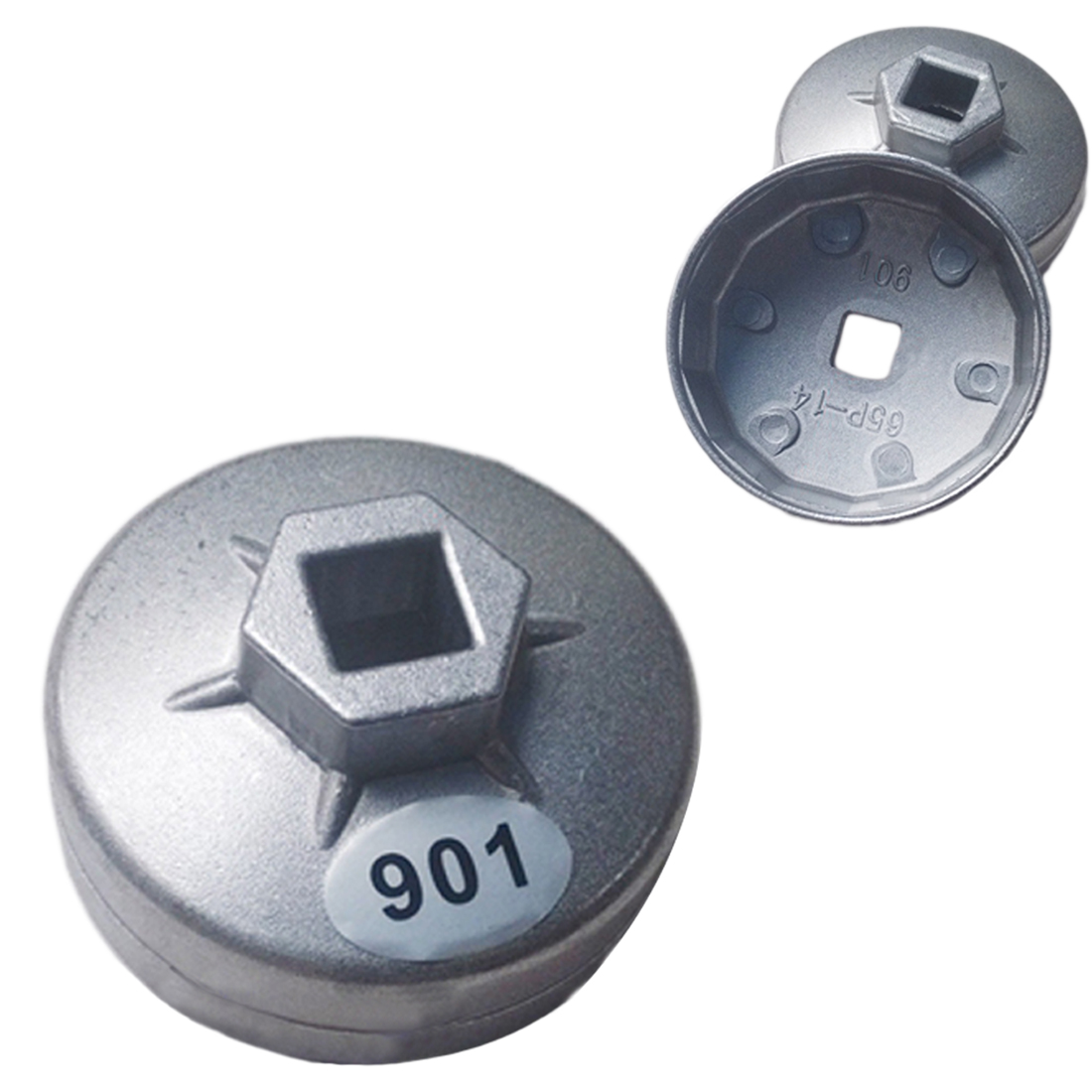 """901 Cap Oil Filter Wrench 1/2"""" Square Drive Oil Filter Removel Tools Filter Socket Wrench Spanner Hand Tool"""