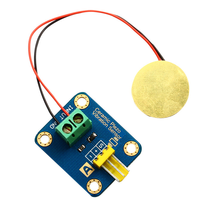 Arduino piezoelectric ceramic vibration sensor vibration sensor electronic building blocks