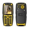 "Kenxinda W3 IP68 waterproof 2.2"" mobile phone 3.5mm earphone jack bluetooth 2.1 mp3 mp4 FM radio dual SIM rugged cellphone P103"