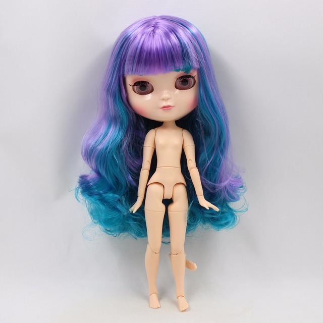 ICY Neo Blythe Doll Purple Blue Hair Azone Jointed Body