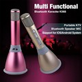 K068 Wireless Karaoke Player Condenser Microphone with Mic bluetooth Speaker KTV Singing Record for Android IOS Phone Computer