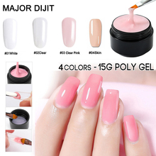 Get more info on the 15ml Builder Gel Polish Pink White Clear Finger Nail Extension Thick UV Gel Nail Cover Camouflage UV Gel Varnish