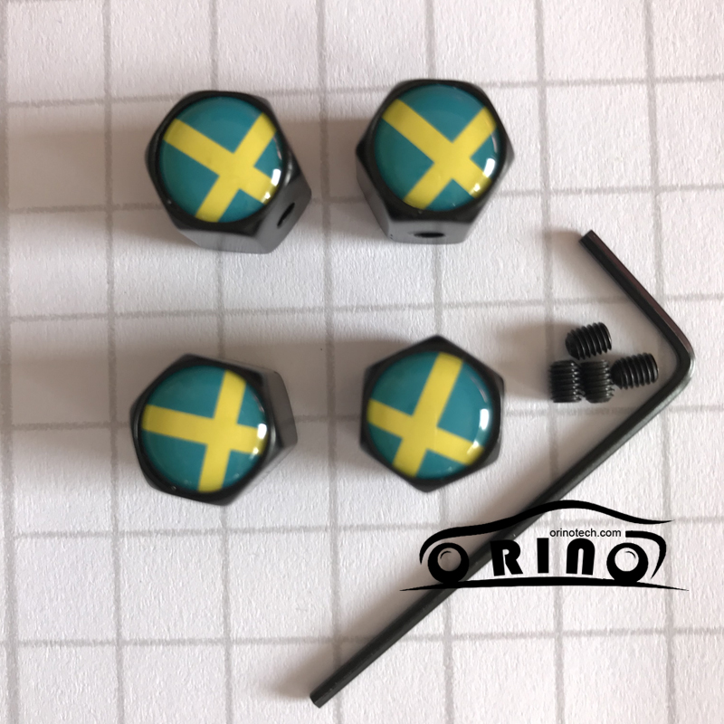 Aliexpress.com : Buy Anti theft Sverige Sweden Flag Car