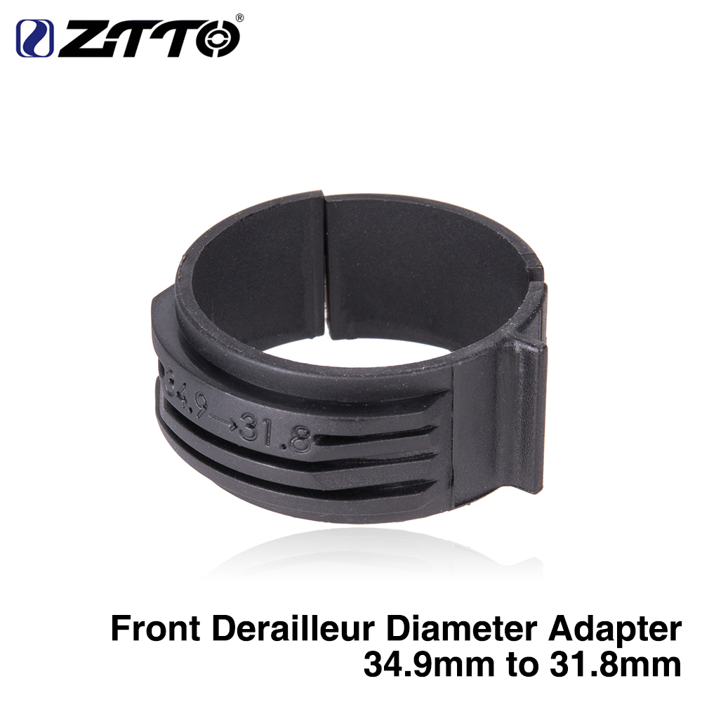 31.8//34.9mm CYCLING BIKE FRONT DERAILLEUR CLAMP ADAPTER FOR ROAD MTB BICYCLE