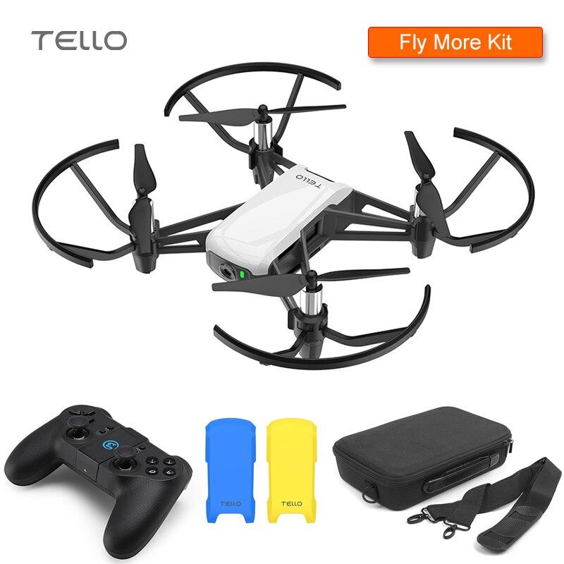 DJI Tello Drone & Ca'se & GameSir T1d & Cover 720 P HD Transmission Caméra APP télécommande Pliage Jouet FPV quadcopter rc Drone