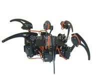 Hexapod robot hardware kit (no servos and electronics)