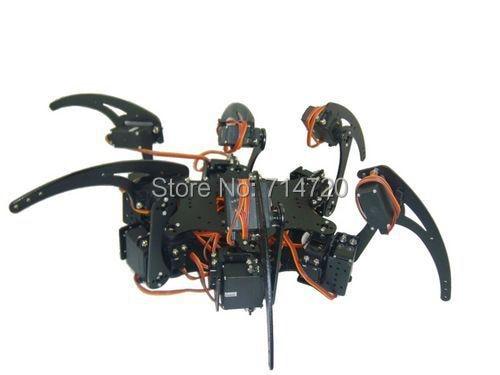 Здесь продается  Hexapod robot hardware kit (no servos and electronics)  Игрушки и Хобби