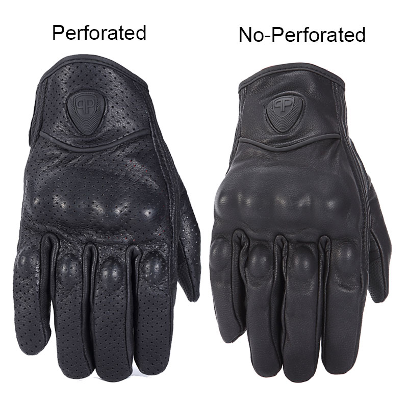 Image 2 - Nordson Retro Motorcycle Gloves Leather Winter Full Finger Waterproof Men Women Motocross Gloves Protective Gears Moto Glove-in Gloves from Automobiles & Motorcycles