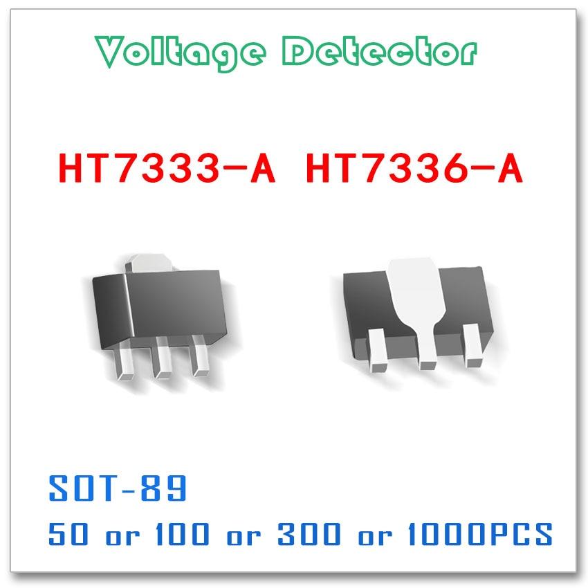 SOT-89 HT7333-A HT7336-A 50PCS 100PCS 300PCS 1000PCS Voltage Detector Original High quality HT7333 HT7336 smd sot89