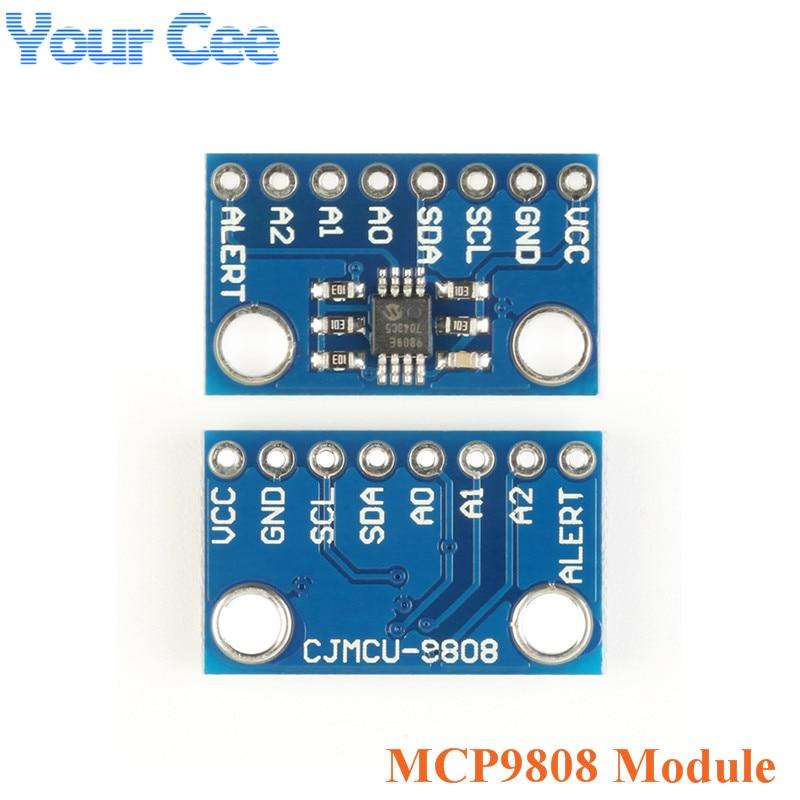 High Accuracy Temperature Sensor MCP9808 I2C Breakout Board