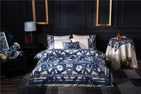 Luxury Plush Shaggy Duvet Cover Set Zipper Closure Europe Design Bedding sets Queen King size Bed sheet set 4/6Pcs