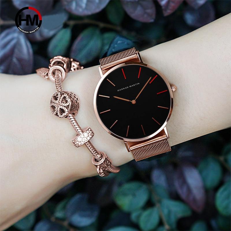 b03a4a4098f Pulseira Relógios das Mulheres Marca de Moda Pulso para Mulheres ...