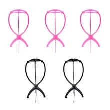 Подставка для парика для хранения париков для женщин Wigstand стабильный долговечный пластиковый держатель подставки для парика 5 шт. шапка держатель стойка для накладных ногтей