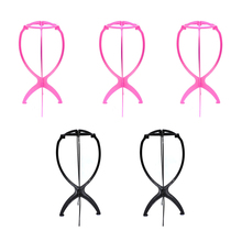 Wigs Wig-Stand-Holder Cap-Holder-Stand-Tool Plastic for Women Stable 5pieces Hat Folding
