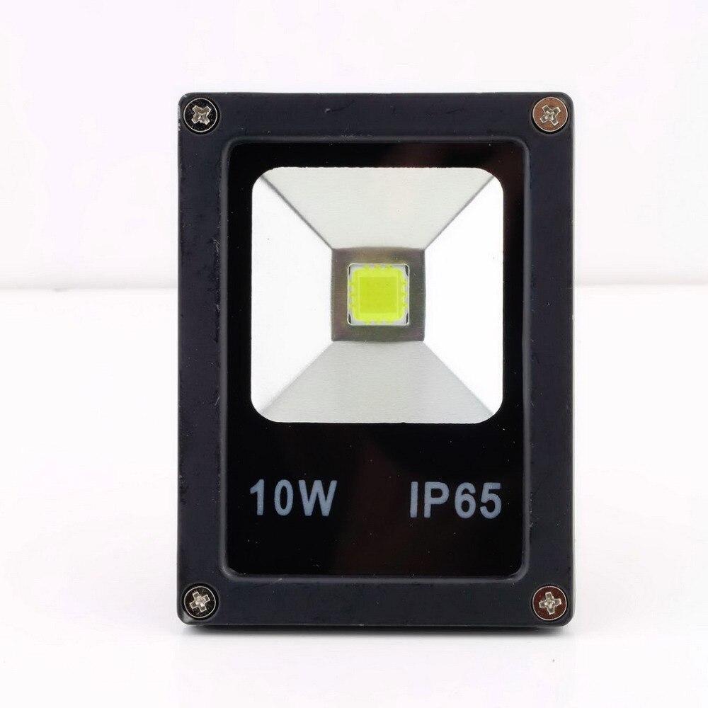 1 pcs Hot 10W LED Floodlight Wash Light Garden Lamp Outdoor 1000lm 85 265V Wholesale