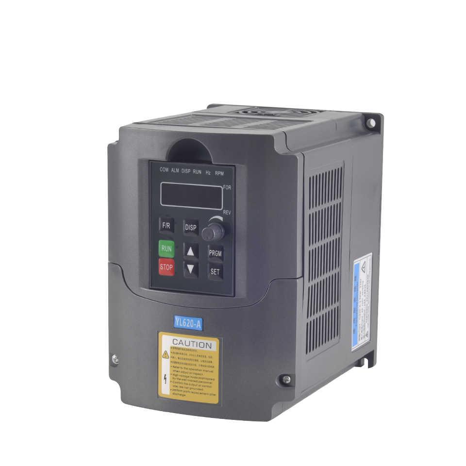 Broche 1.5KW eau broche ER11 fraisage moteur 65MM Machine-outil broche avec 1500W VFD inverseur convertisseur contrôleur pour CNC