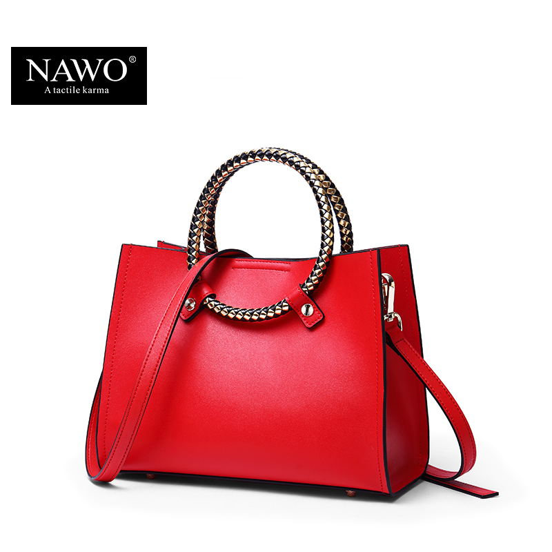 Nawo Luxury Brand Handbags Women Bags Designer Female Crossbody Bag Small Las Candy Color High Quality Shoulder In Top Handle From