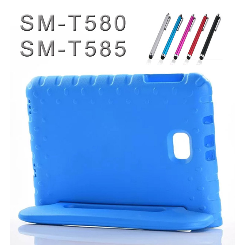 for Samsung Tab A a6 10.1 SM-T580 T585 Kids case EVA Foam shockproof cover for Samsung Galaxy Tab A 2016 T585N fashion case аксессуар чехол для samsung galaxy tab a t585 10 1 cross case el 4023 blue