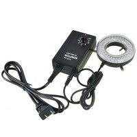 AmScope 64-LED 顕微鏡 LED リングライトアダプタ LED-64-ZK