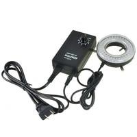 AmScope 64-LED Mikroskop LED Ring Licht mit Adapter LED-64-ZK