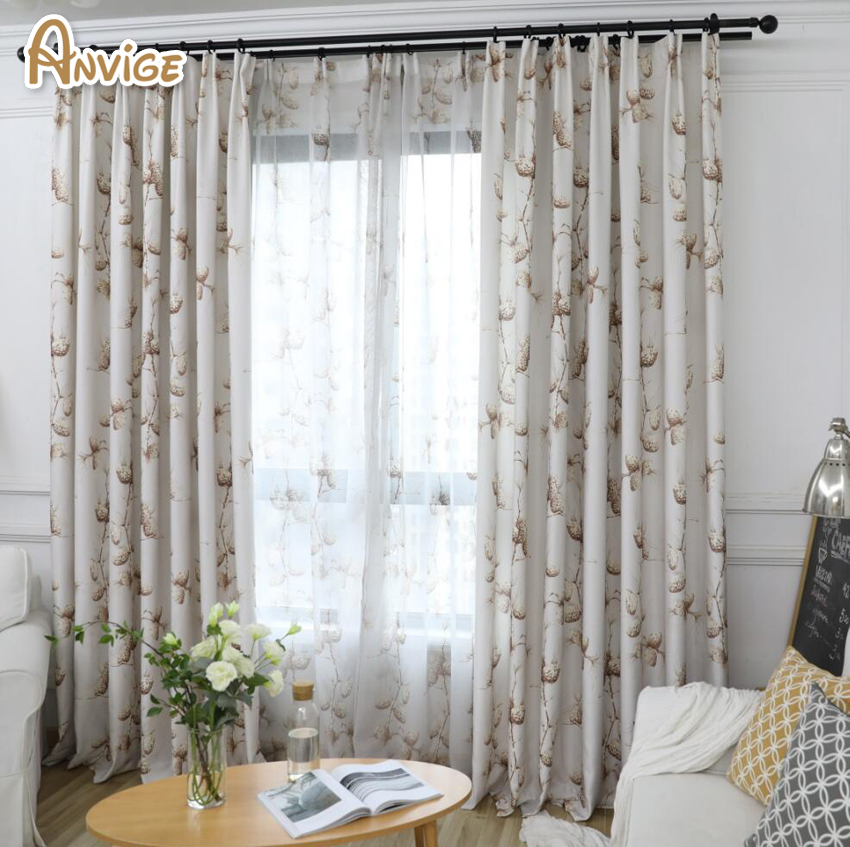 High Window Curtains: 2018 New Curtains Printed Blackout Curtains High Quality