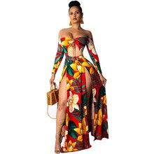 Dresses Woman Party Night Long Sleeve Hot Women Ladies Maxi Summer Evening Dress Beach Sundress Clothes