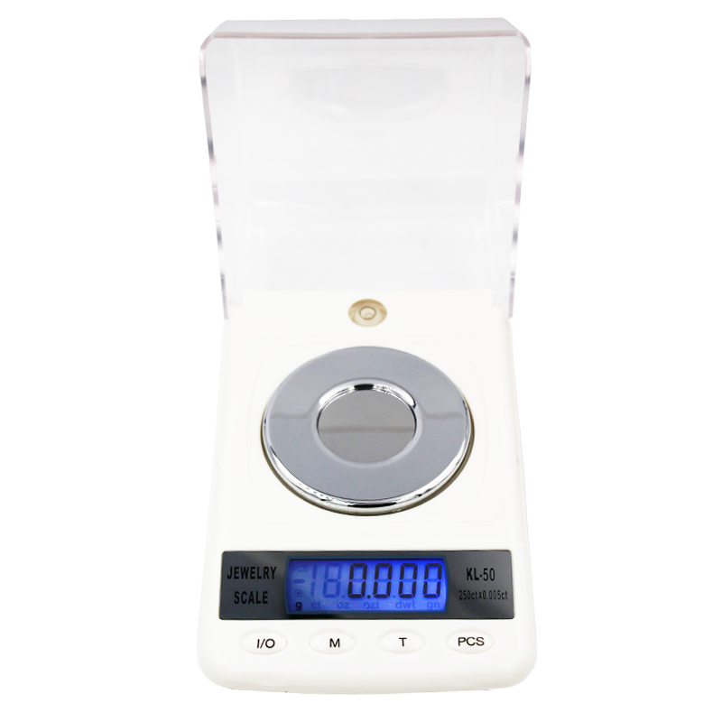 50g 0.001g High Precision Digital Electronic Diamond Jewelry Gem Carat Scales Counting Function Portable Weight Balance 20% off