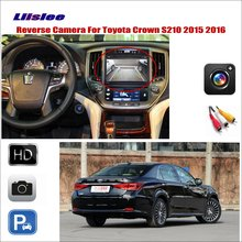 Liislee Car Reverse Rear View Camera For Toyota Crown S210 2015 2016 / Connect Original Factory Screen / RCA Adapter liislee for honda hrv hr v 2013 2016 car reverse rear view camera connect the original factory screen rca adapter