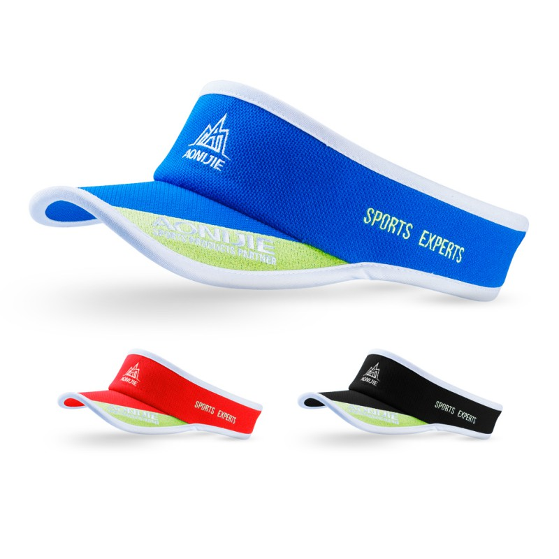 Outdoor Unisex Adult Anti UV Hat Sport Marathon Visor Cap Ultralight Quick Dry Running Hat