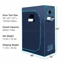 4 X2 X5 120x60x150cm Mars Hydro Indoor Grow Tent Hydroponic Lamp Non Toxic Room Box