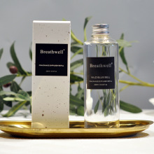 1 шт Breathwell 250 мл Рид диффузор заправка бутылки бамбука Shangri-la Bluebell фрезия встретиться лимонник, и т. д
