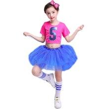 Танцевальное платье для девочек в стиле джаз, танцевальная одежда для девочек, танцевальная одежда для сцены, детские костюмы в стиле джаз для девочек в стиле хип-хоп