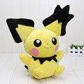"12"" 30cm  Pikachu Go Plush Toy Pikachu Pichu Plush Cute Soft Stuffed Animal Doll Kid Gift"