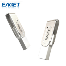EAGET V88 16G 32G 64G USB Flash Drive USB 3.0 Flash USB Pen Drive OTG 2 In 1 PC Laptop Smart Phones U Disk Storage Stick