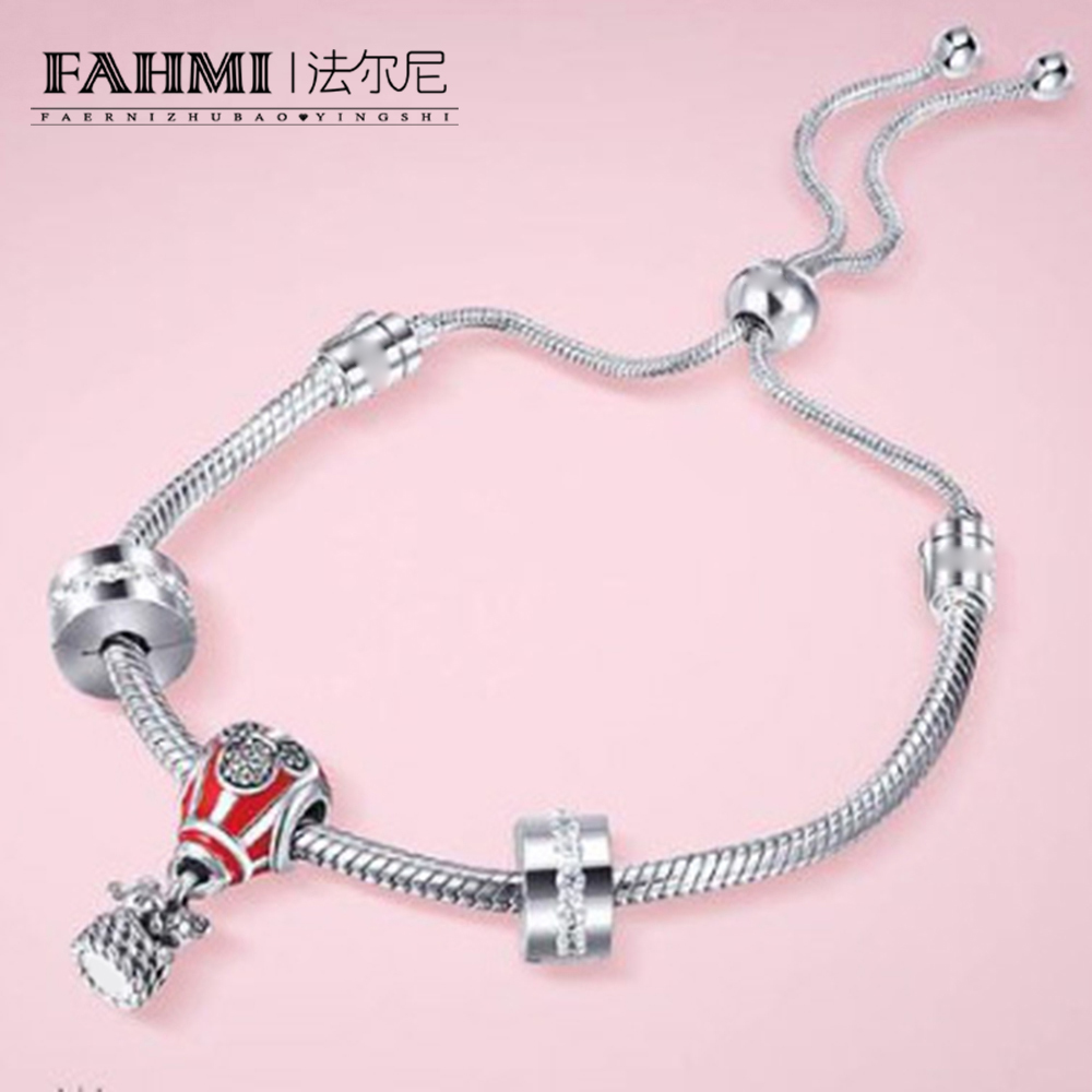 FAHMI 100% 925 Sterling Silver Classic 90th Anniversary Love Balloon Gift Bracelet Set Limited Exclusive Manufacturer SalesFAHMI 100% 925 Sterling Silver Classic 90th Anniversary Love Balloon Gift Bracelet Set Limited Exclusive Manufacturer Sales
