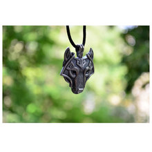 Vikings Norse Wolf Head Necklace MEN Pendant