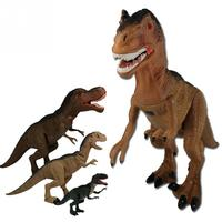 Funny Tyrannosaurus dinosaur Animal Model Toys RC toys Electric Remote Control with Shaking Head Light Up Eyes and Sounds