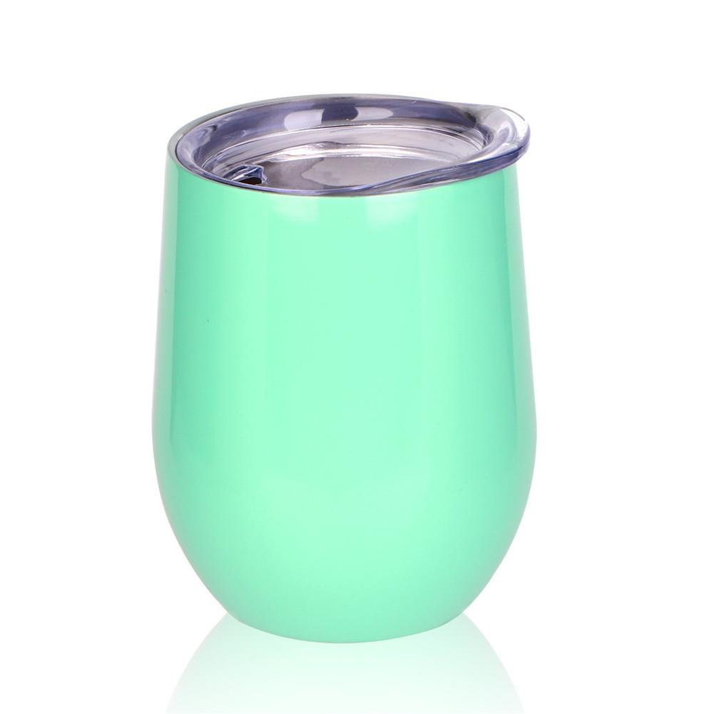 12OZ Vacuum Insulation Tumbler Wine Cup Without Foot