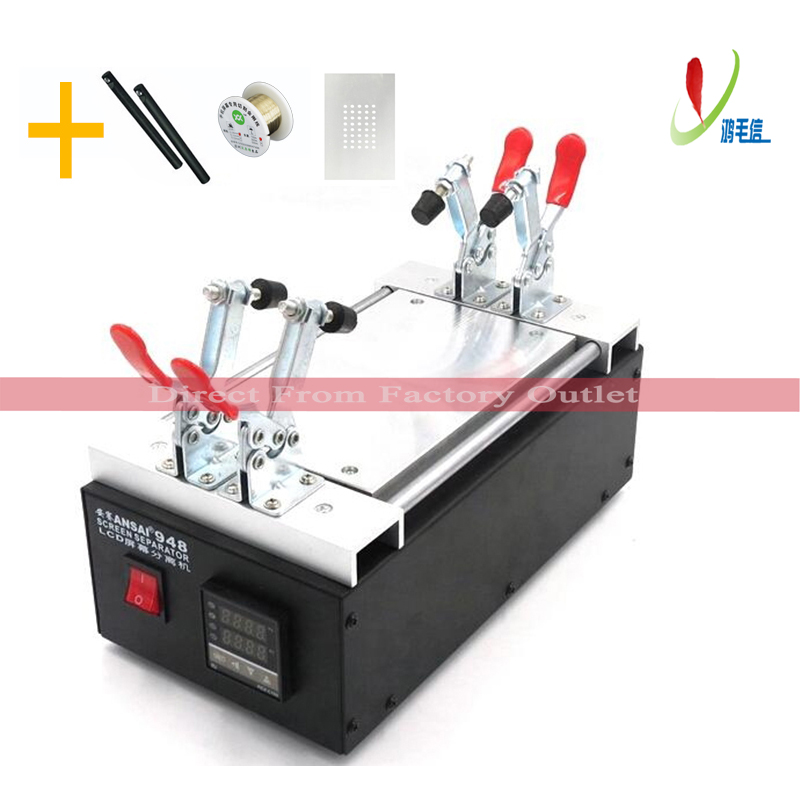 Black Metal 7″ LCD Separator Machine For iPhone SAMSUNG Mobile Phone Touch Glass Panel Screen Split Separation Repair