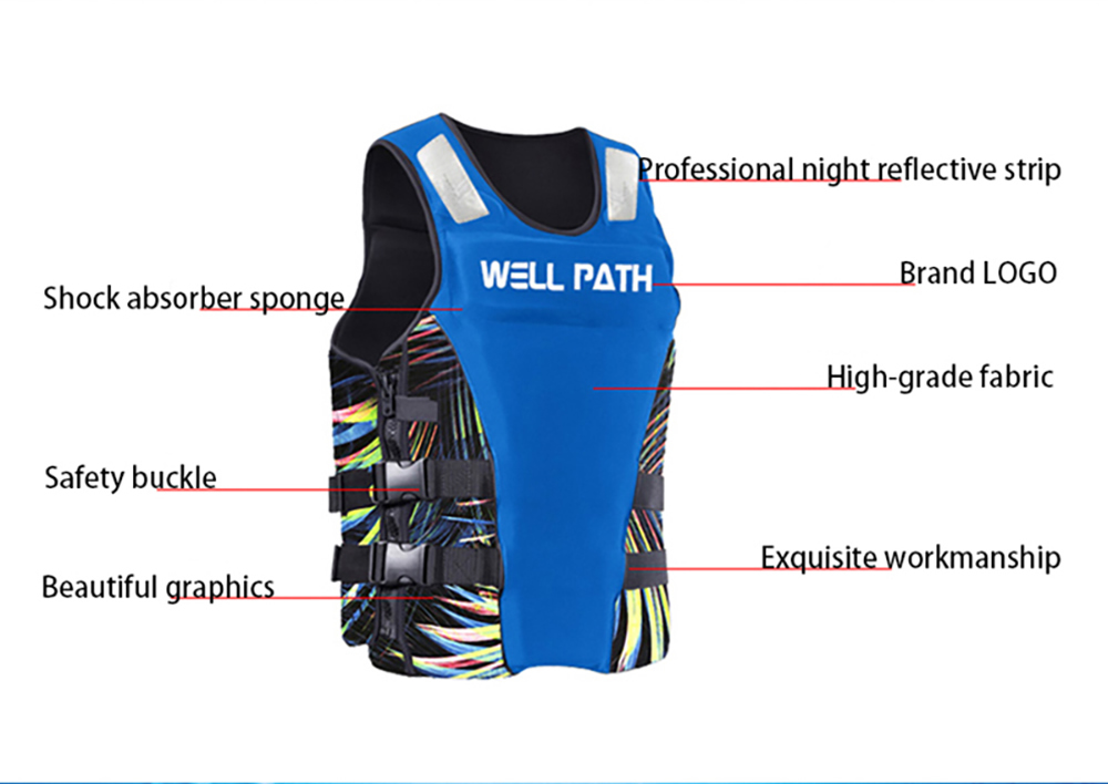 Well Path Life Vest Life Jacket Three Colors GJ Sports Store