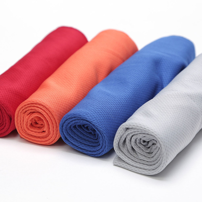 Sports Ice Towel: 4 Color Microfiber Towel Cold Towel Summer Sports Ice Cool