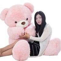 Fancytrader прекрасный мягкий большой розовый белого и синего цвета медведи плюшевые игрушки мягкие гигантский плюшевый мишка с бантом кукла 160