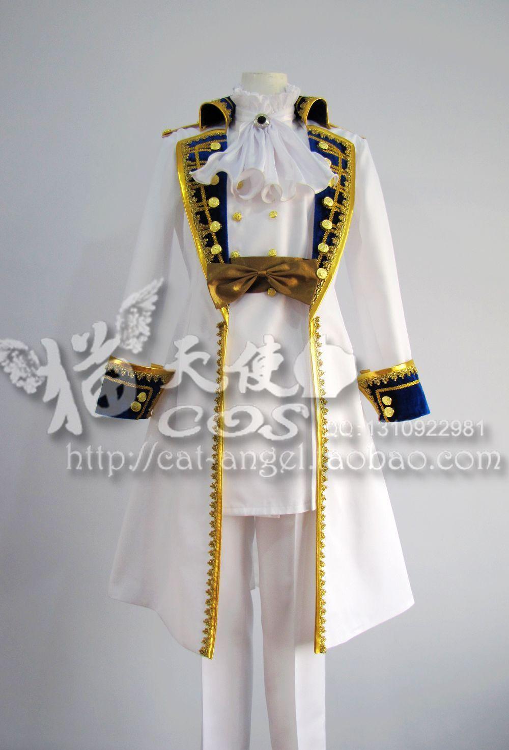 Axis Powers Hetalia Austria Cosplay Costume Custom Any Size