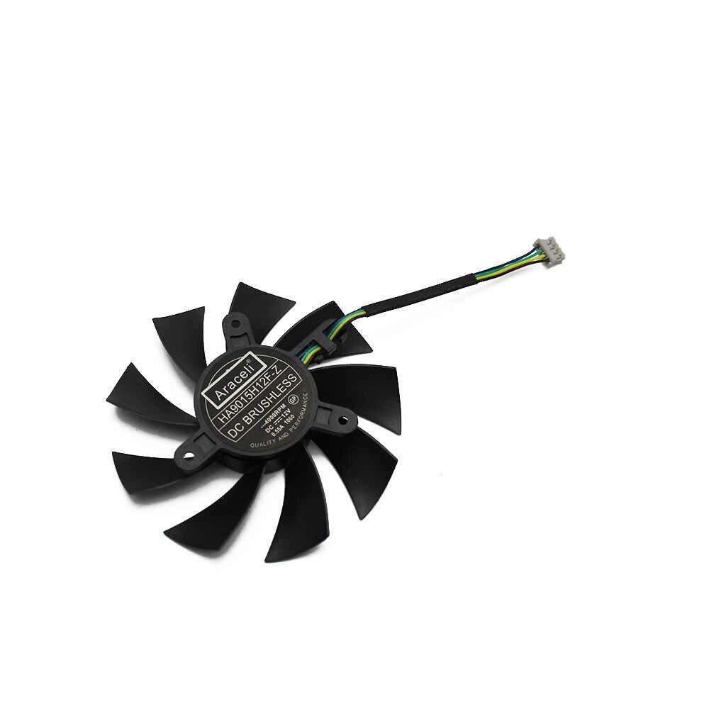 شحن مجاني HA9015H12F-Z ل MSI GTX 1060 OC GTX950 R7 360 2GD5 بطاقة جرافيكس التبريد مروحة
